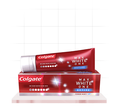 Colgate Max White One Active Teeth Whitening Toothpaste